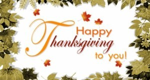 What Are You Thankful For? – Thanksgiving 2013